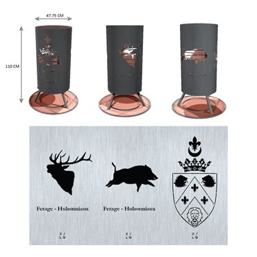 Brazier - Business - Hunting - Ferage - Hulsonniaux - Wild boar - Deer